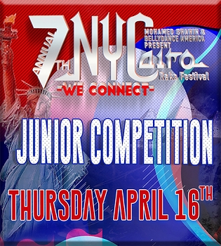 NYCairo Raks Festival 2020: Junior Competition Entrance Fee: $65