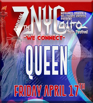 NYCairo Raks Festival 2020: Queen Competition Entrance Fee: $80.00
